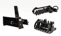 Skid Steer Attachments Compact Tractor Attachments Fence