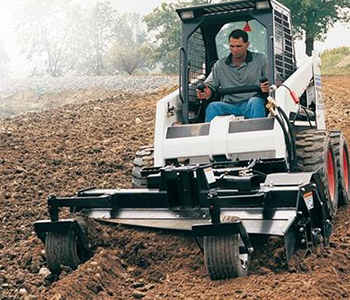 Triple S Power Scape Soil Conditioner Skid Steer