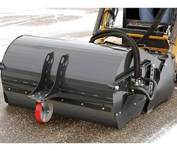 Triple S Power Pick Up Broom Mini Skid Steer Attachment