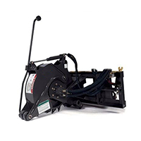 Triple S Power Industrial Pavement Saw Skid Steer Attachment