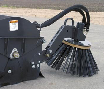 Triple S Power Pick Up Broom Skid Steer Attachment