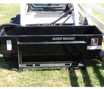 Triple S Power Auger Bucket Skid Steer Attachment