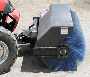 Triple S Power Angle Broom Atv Attachment Atv Sweepers
